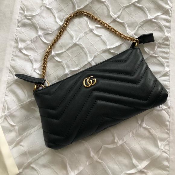 007660498 Gucci Bags | Gg Marmont 20 Apollo Wristlet | Poshmark
